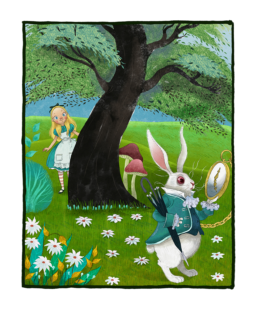 alice-and-white-rabbit