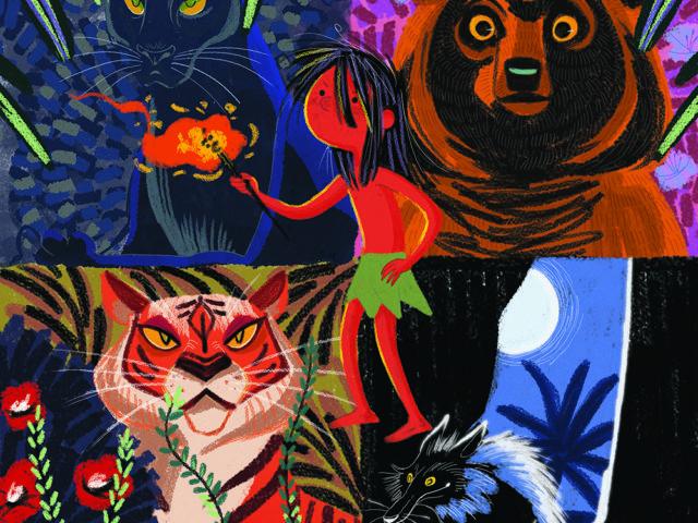 Jungle Books / Kipling cover